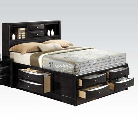 Acme Furniture Ireland Collection Bed with Storage Drawers, Storage ...