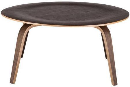 EdgeMod EM185WAL Walnut Mid-Century Table