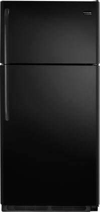 Frigidaire FFTR18D2PB Freestanding Top Freezer Refrigerator with 18.2 cu. ft. Total Capacity  4.07 cu. ft. Freezer Capacity