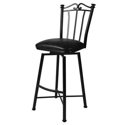 Pastel Furniture QLLG2192 Laguna 30 in. Bar Height Swivel Barstool