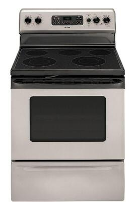 Hotpoint RB792SRSA  Electric Freestanding Range with Smoothtop Cooktop, 4.5 cu. ft. Primary Oven Capacity, Storage in Stainless Steel