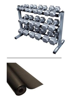 Body Solid SDS550GDR363RF34B Dumbbells