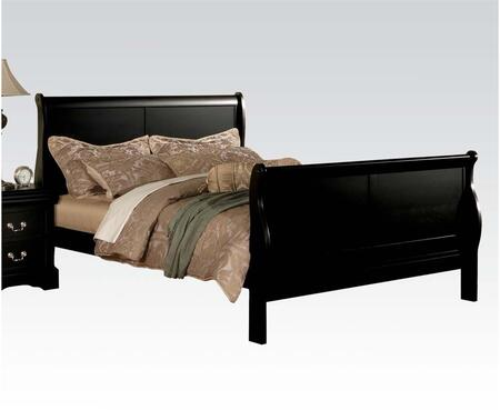 Acme Furniture 19500Q Louis Philippe III Series  Sleigh Bed