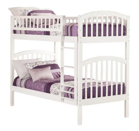 Atlantic Furniture AB64102  Twin Size Bunk Bed