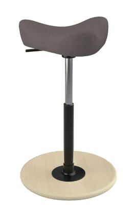 """Varier MOVE SMALL 2700 BREEZE FUSION 22"""" - 32"""" Sit-Stand Chair with Breeze Fusion Upholstery,"""