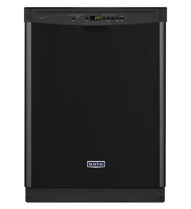 Maytag MDB7949SD 47 dBA Dishwasher with Full Stainless Steel Tub, Stainless Steel Silverware Basket, PowerBlast Cycle, Steam Sanitize Option and DuraGuard Nylon Racks: