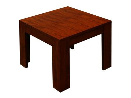 Boss N22M Contemporary Wood Square None Drawers End Table