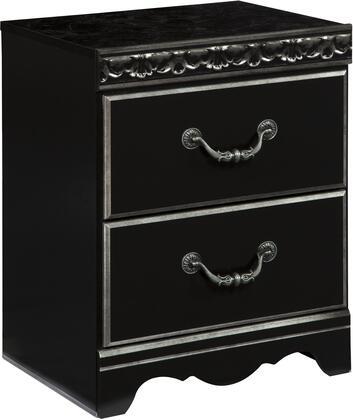 Signature Design by Ashley B30192 Navoni Series Rectangular Wood Night Stand