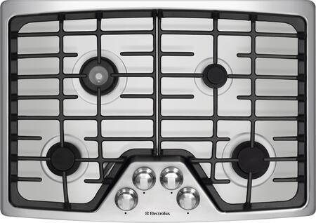 Electrolux EW30GC55GS Wave-Touch Series Gas Sealed Burner Style Cooktop