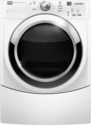 Maytag MGDE500VW Performance Series White 7.2 cu. ft. Gas Dryer