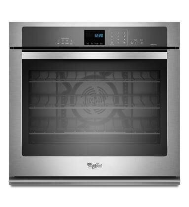 "Whirlpool WOS92EC7AS 27"" Single Wall Oven, in Stainless Steel"