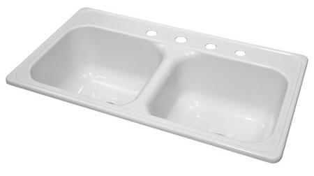 Lyons DKS01J435 Kitchen Sink
