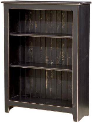 Chelsea Home Furniture 465113BL Constance Series Wood 2-3 Shelves Bookcase