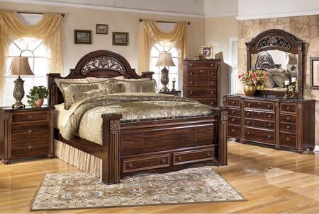 Milo Italia BR517QPSBSDMN3 Spence Queen Bedroom Sets
