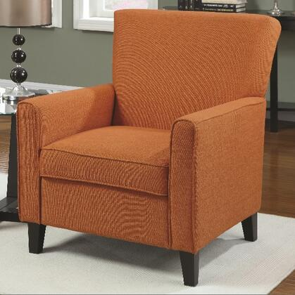 Coaster 902094 Accent Seating Series Armchair Fabric Wood Frame Accent Chair
