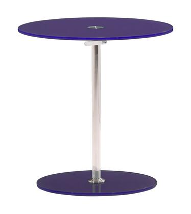 Zuo 401153 Radical Series Modern Round End Table
