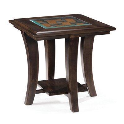 Magnussen T178003 Tivoli Series Transitional Rectangular End Table