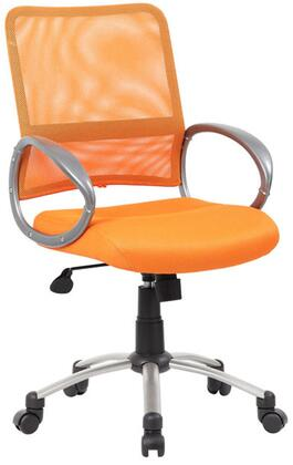 "Boss B6416OR 25"" Adjustable Contemporary Office Chair"