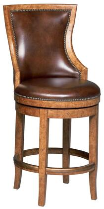 Ambella 20061520001 Cordoba Series Residential Leather Upholstered Bar Stool