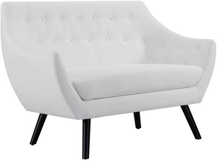 Modway Allegory Collection 52 Loveseat With Tufted Button Backrest