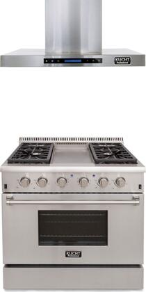 Kucht 721867 Professional Kitchen Appliance Packages