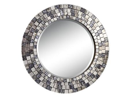 Stein World 12437 Beckham Series Round Portrait Decorative Mirror