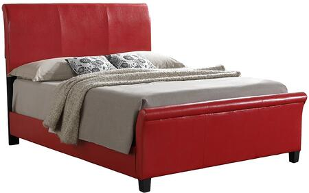 Glory Furniture G2759QBUP G2700 Series  Queen Size Sleigh Bed