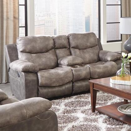 Catnapper 64359115218130028 Henderson Series Fabric Reclining with Metal Frame Loveseat