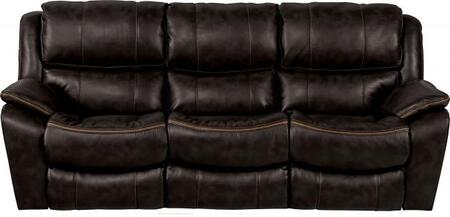 Catnapper 4511115208125208 Beckett Series  Faux Leather Sofa