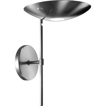A 1120 Brushed Nickel Sconce