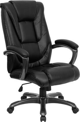 "Flash Furniture GO7194BBKGG 27.25"" Contemporary Office Chair"