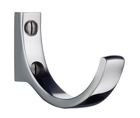 "Smedbo BK1030 Beslagboden Series: 1.75"" Stainless Steel Design Hook"