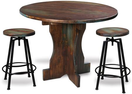 Sunset Trading HH80140483PC Cabo Bar Table Sets