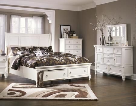 Milo Italia BR768QSBDM Hanson Queen Bedroom Sets