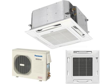 Panasonic KS12NB41A Ceiling Recessed Air Conditioner Cooling Area,