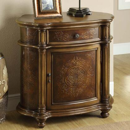 Monarch I3825 Freestanding Wood 1 Drawers Cabinet