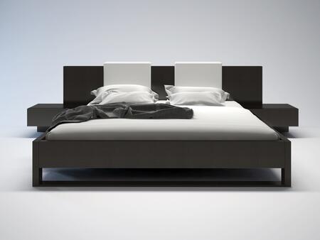 Modloft MD316CKWEN Monroe Series  California King Size Platform Bed