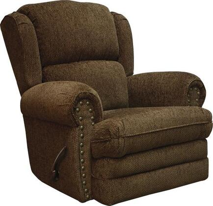 "Jackson Furniture Braddock Collection 4238-11- 40"" Rocker Recliner with Rolled Arms, Nail Head Accents and Reversible Seat Cushions in"