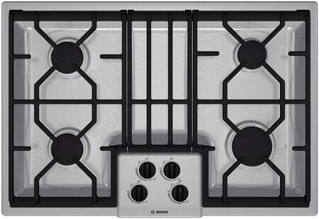 Bosch NGM3054UC 300 Series Gas Sealed Burner Style Cooktop
