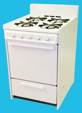 Haier HGRA241AAWW  Gas Freestanding Range with  in White