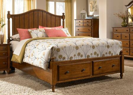 Broyhill HAYDENPANELLCQ  Queen Size Panel Bed