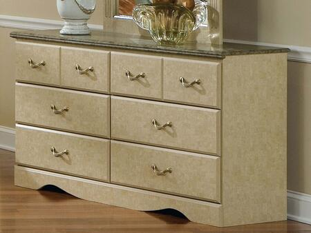 Standard Furniture 59509A Florence Series Wood Dresser