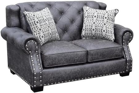 Gardena Sofa Gdnca68 Fredo Series Fabric Stationary With Wood Frame