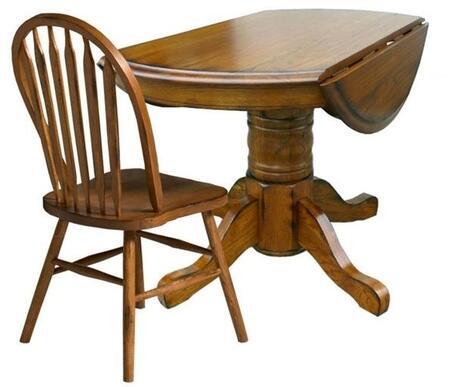 Intercon Furniture COTA42DBRUC