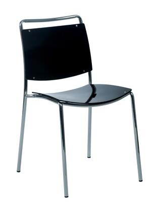 Euro Style 81001 Stefie Series  Dining Room Chair