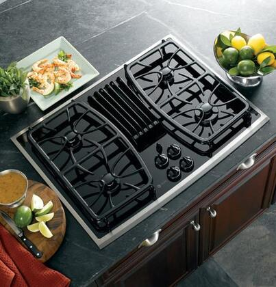 GE Profile PGP989SNSS Profile Series Gas Sealed Burner Style Cooktop