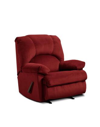 Chelsea Home Furniture 478500-X Charles Handle Rocker Recliner, Medium Cushion Firmness, and Fabric Upholstery