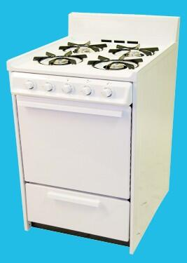 Haier HGRP241AAWW  Gas Freestanding