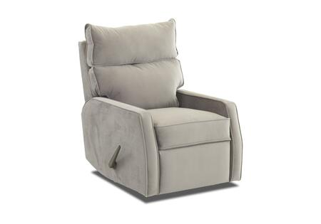 """Klaussner Fairlane Collection 82803H-RRC- 29"""" Rocking Reclining Chair with Track Arms, Pillow Top Attached Back, Welt Detailing in"""