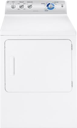 GE GTDP350EMWS  Electric Dryer, in White